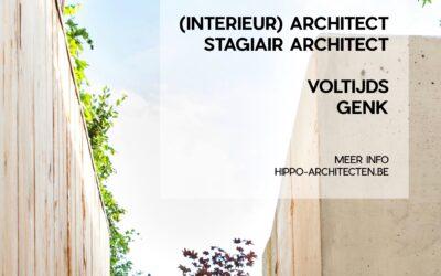 VACATURE interieur(architect) – stagiair architect